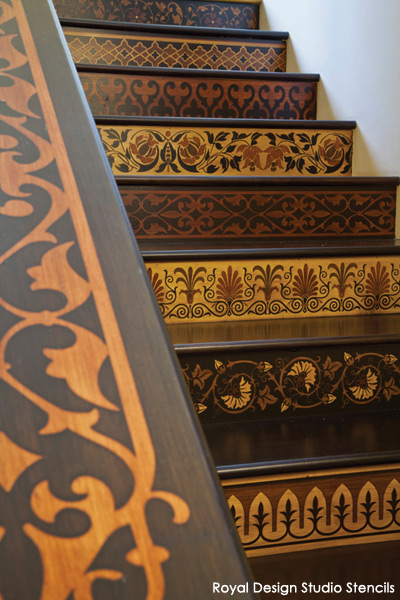 High Stepping Design Decorative Stair Risers An