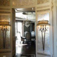 mica wall finish pearl decorative art interior design